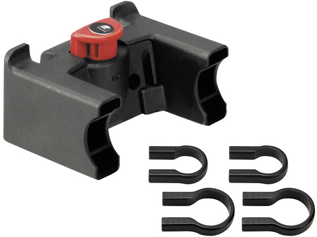 KlickFix Lenkeradapter mit Schloss med lås universal, black